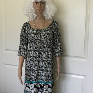 Sophie Max Womens Dress Size S Floral Stretchy